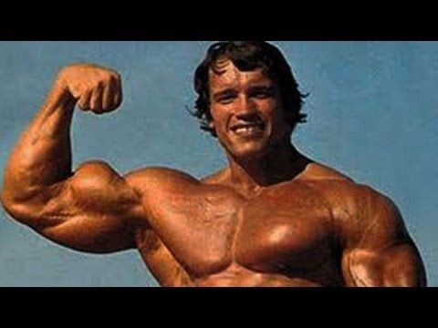 Muscle & Strength: Rare Footage of Arnold Schwarzenegger Training Back and Chest at Golds Gym Venice