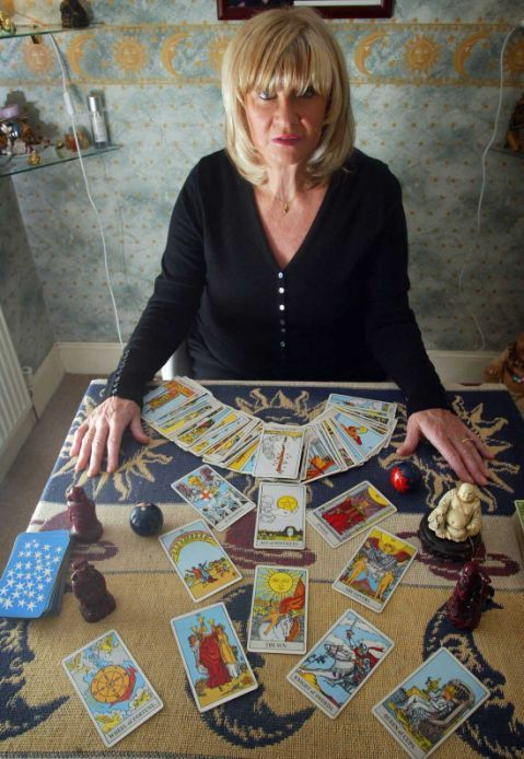 Psychic quits job.. after winning £2.2m on National Lottery    BETI SCHULZ, who won around £730,000 in a three-person syndicate, has decided to retire after 40 years of predicting the future for people.