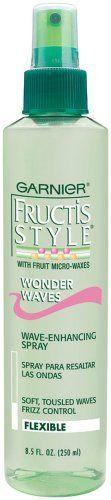 Garnier Fructis Wonder Waves Non-Aerosol Hairspray, 8.5 oz:Amazon:Beauty