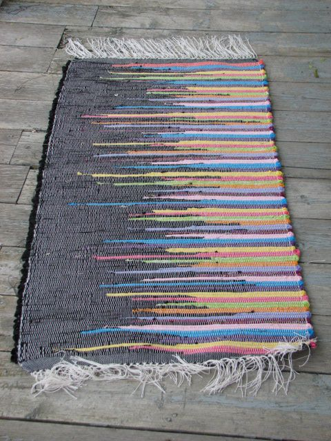 woven rag rug-by Patty Martinson