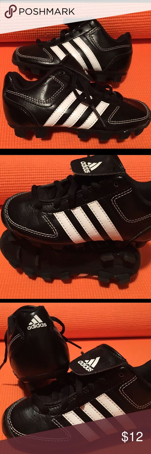 Adidas Cleats Kids Size 11 Take me out to the ball game.... little kids cleats size 11 in VERY GOOD condition Adidas Shoes