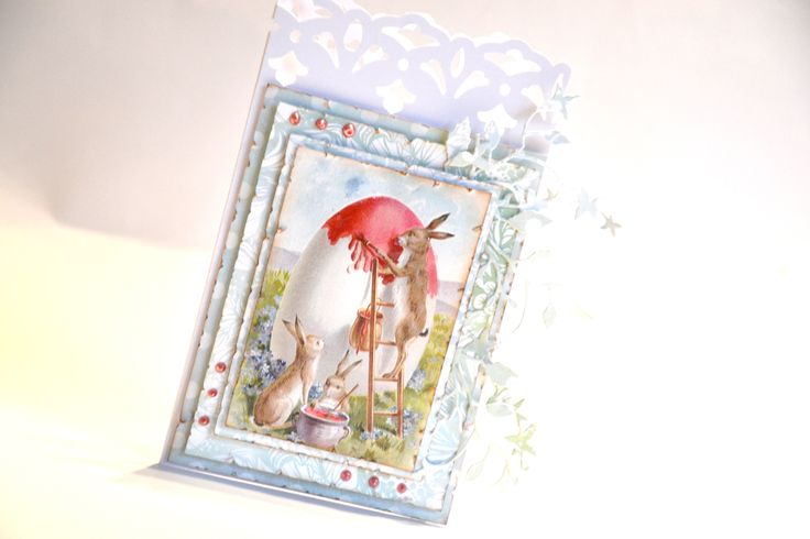 Easter card  scrapbooking by Bluebell