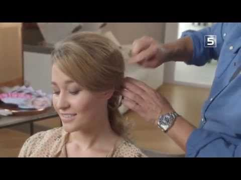 Leco Styles in 60 seconds: klassiek opgestoken haar - YouTube