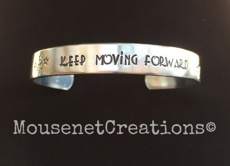 Keep Moving Forward~ Walt Disney quote~ Meet the Robinsons by MousenetCreations on Etsy