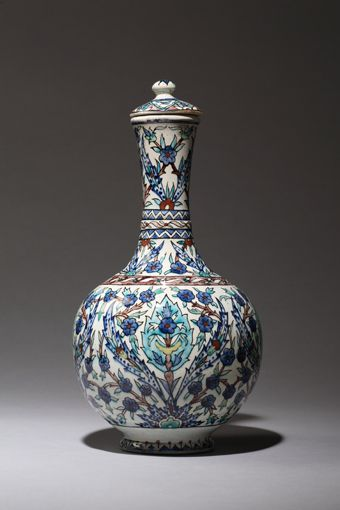 This dossier presentation of 35 works marks the debut of the Ottis collection of Islamic ceramics. An ongoing gift of nearly 300 vessels and tiles fired in kilns from Iran to Morocco and spanning from the 9th to the 19th … Continued