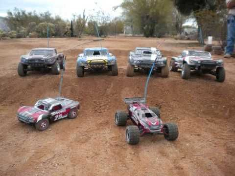 Backyard RC Track - YouTube