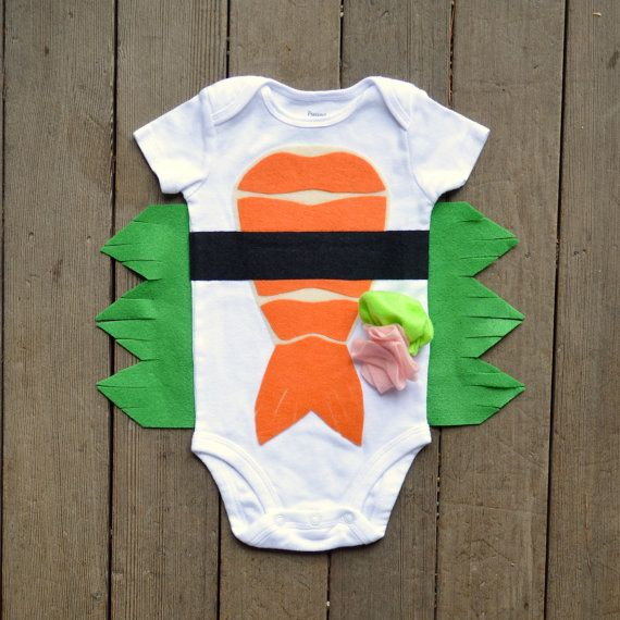 Sushi Baby Costume - MARTHA STEWART SHOW  - Baby Childrens Halloween Costume - The Wishing Elephant
