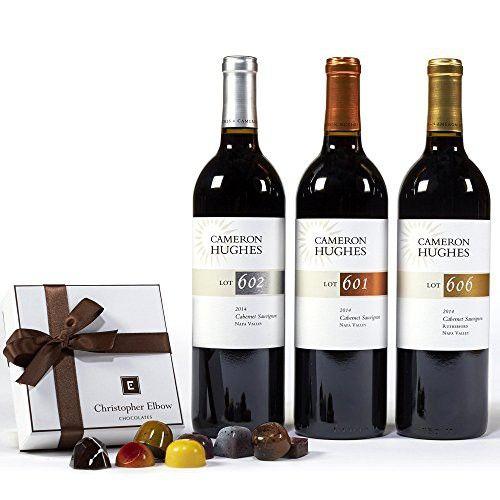 Cameron Hughes Elite Napa Cabs and Truffles Wine Gift Set, 3 x 750 mL