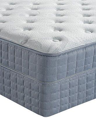 Serta Perfect Sleeper Pleasant Bay Tight Top Plush Full Mattress Set - mattresses - Macy's