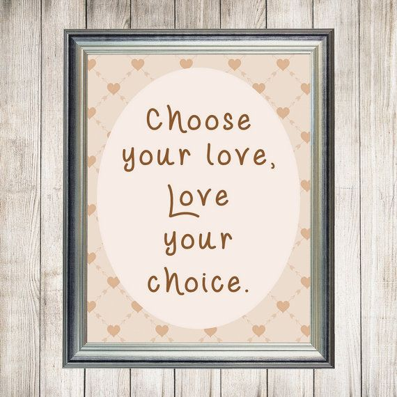 Inspirational Art Love Quote Wisdom Printable by DigiBugs on Etsy