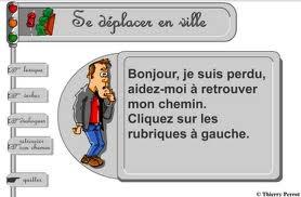 http://lexiquefle.free.fr/ville.swf Se déplacer en ville