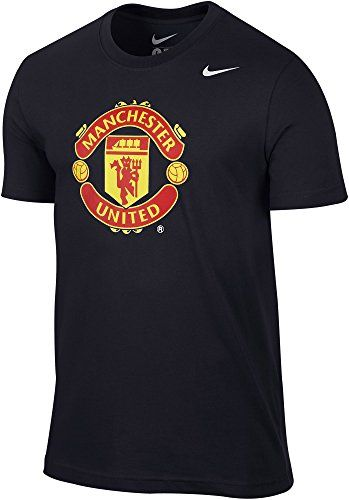 NIKE Manchester United Men'S Man Utd Core Crest Soccer Slim Fit T-Shirt. #nike #cloth #