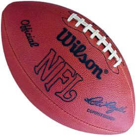 Old Ghost Collectibles - Wilson Official F1006 Pete Rozelle NFL Leather Game Football 1960 to 1989, $109.99 (http://www.oldghostcollectibles.com/wilson-official-f1006-pete-rozelle-nfl-leather-game-football-1960-to-1989/?page_context=category