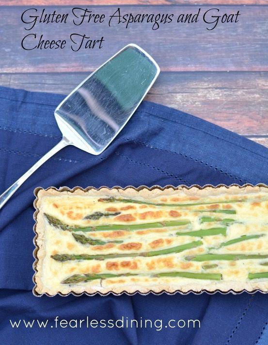 QUICHE DE ESPARRAGOS Y QUESO DE CABRA (Gluten Free Asparagus and Goat Cheese Tart) #RecetasSinGluten