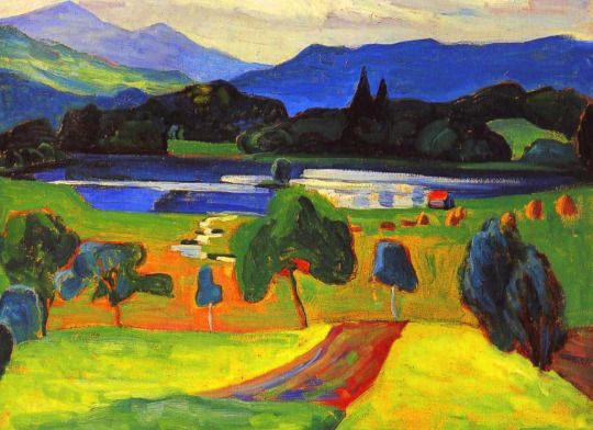 A Lake in the Mountains Gabrielle Münter