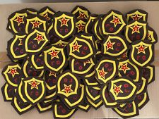 1 Patch Fire Police Civil Defense New old stock USSR Army World War Original Rar