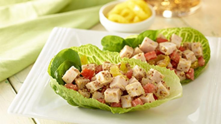 Turkey Lettuce Snack Wraps | The Biggest Loser Partners, Fitness, and ...