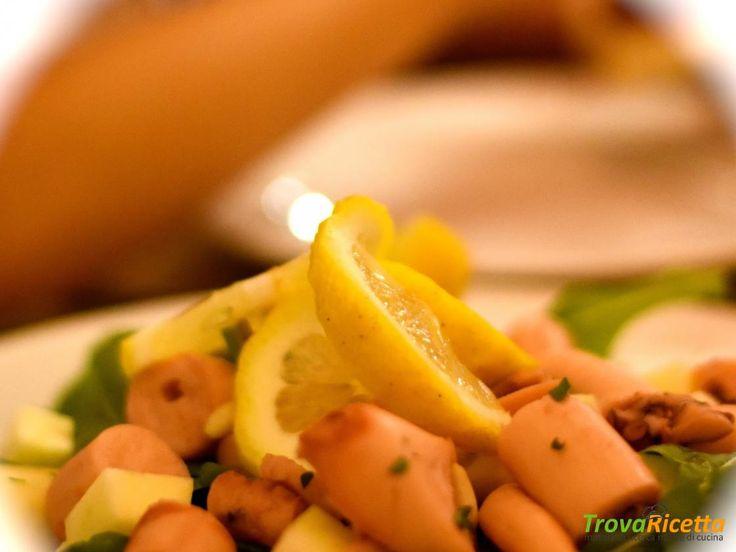 Insalata di polpo pinoli e mele  #ricette #food #recipes