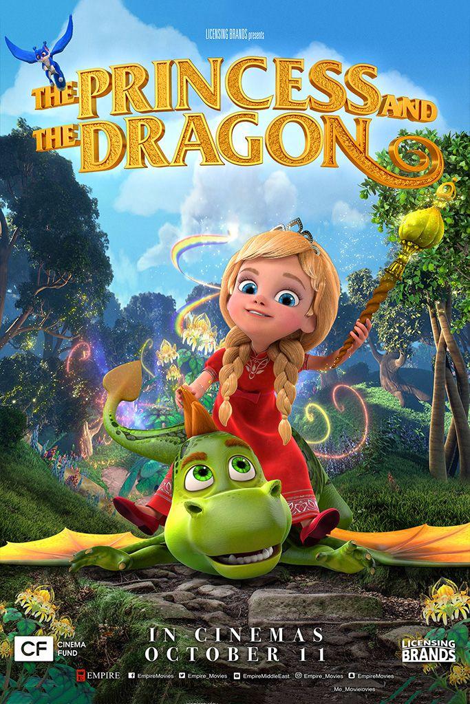 The Princess And The Dragon Dragon Movies Animated Movies Princess