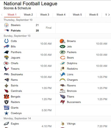 Where to Stream NFL Games
