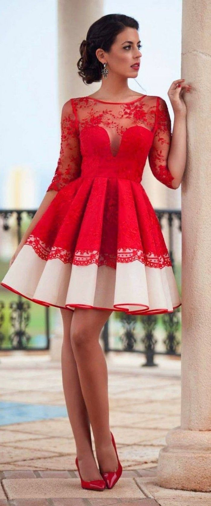 die besten 25 rotes kleid schuhe ideen auf pinterest retro vintage kleider r cke und. Black Bedroom Furniture Sets. Home Design Ideas