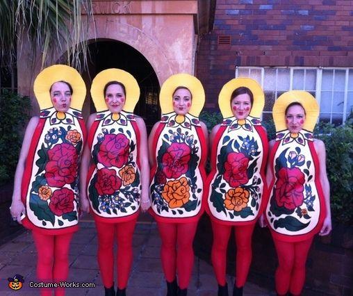 Matryoshka Dolls/ Russian Nesting Dolls - 2012 Halloween Costume Contest