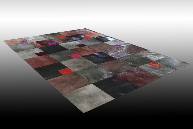 Design: Senso and Théogonie, Size: 250cm x 350cm, Material: Cowhide