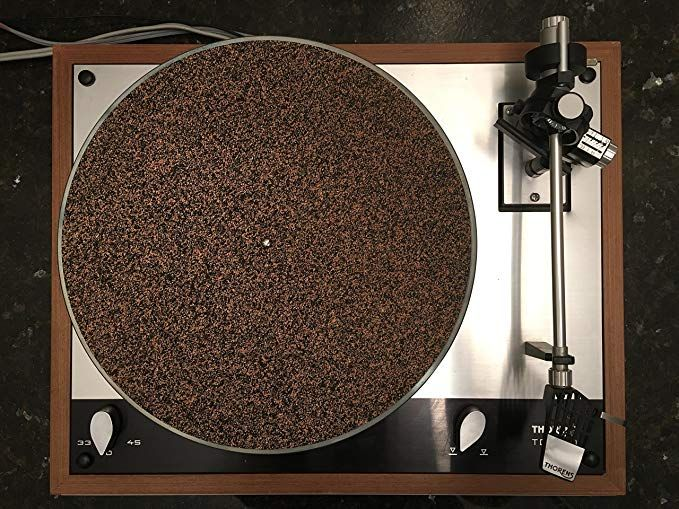 Corkery2 Cork N Rubber Turntable Platter Mat 1 8 Quot Audiophile Slipmat Made In Usa Turntable Mat Turntable Vinyl Records