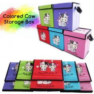 Colored Cow Storage Box, Tempat Menyimpan / Membawa Barang - Barang Yang Lucu Dan Berguna Dirumahmu - www.evoucher.co.id #Promo #Diskon #Jual  Klik > https://evoucher.co.id/deals/detail/colored-cow-storage-box-tempat-menyimpan--membawa-barang---barang-yang-lucu-dan-berguna-dirumahmu  Colored Cow Storage Box, Kotak Tempat menyimpan barang - barang yang dapat dibawa. Memudahkanmu saat pindah / bepergian Juga sebagai tempat penyimpanan dirumah. Memiliki tampilan lucu & warna