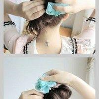 Super Cute :): Updo Hairstyle, Cute Updo, Hair Beauty, Hair Twist, Chopstick Hair, Crazy Hairdo, Easy Updo