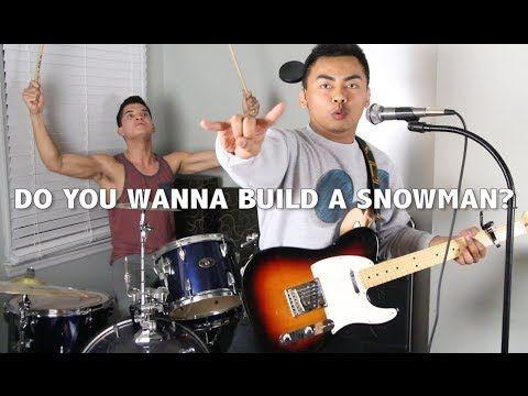 ▶ DO YOU WANNA BUILD A SNOWMAN?!? - YouTube