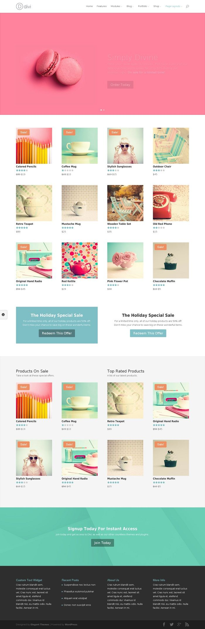 17 best images about best ecommerce wordpress themes 2014 - Divi theme ecommerce ...