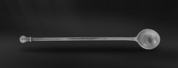 Pewter Cocktail Spoon - Length: 27 cm (10,6″) - Food Safe Product - #pewter #cocktail #spoon #peltro #cucchiaio #drink #zinn #zinnlöffel #getränke #étain #etain #cuillère #peltre #tinn #олово #оловянный #tableware #dinnerware #table #accessories #decor #design #bottega #peltro #GT #italian #handmade #made #italy #artisans #craftsmanship #craftsman #primitive