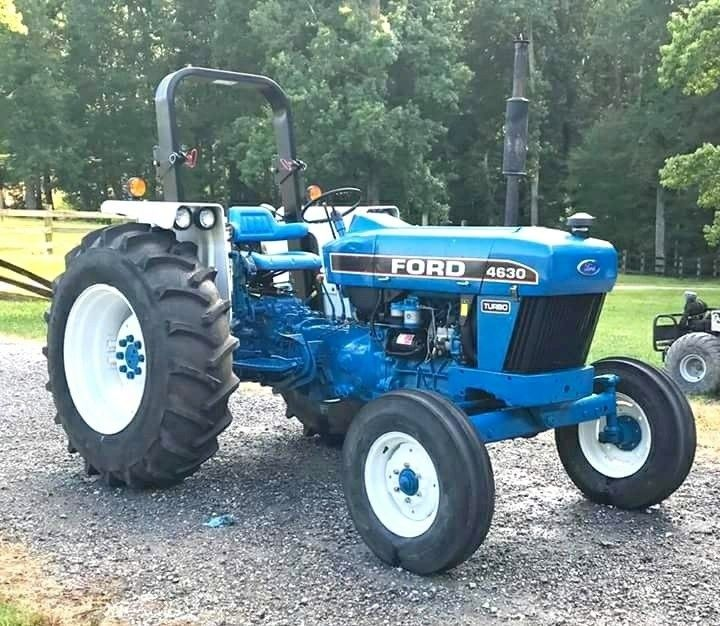 Ford 4630 92 97 63 Hp Tractors Ford Tractors New Holland Tractor