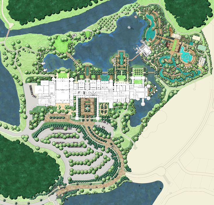 EDSA Master Plan | Project Four Seasons Resort Orlando At Walt Disney Worldu00ae Resort | Pinterest ...