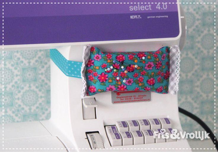 tutorial speldenkussen aan je naaimachine fris en vrolijk