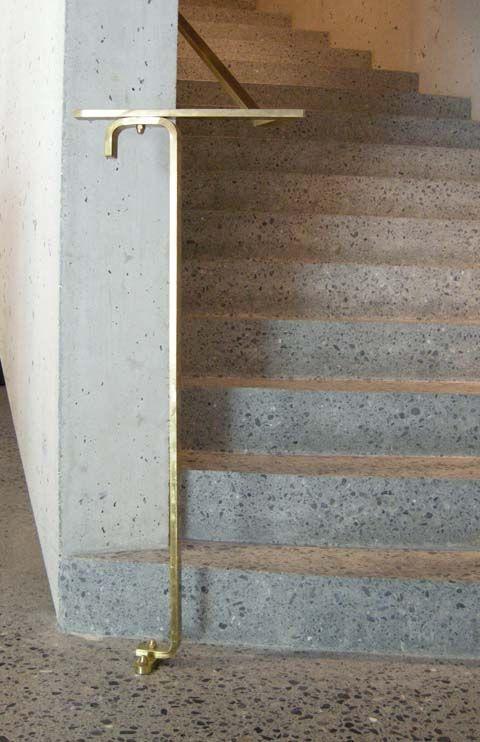 Staircase detail, Visitor Center Swiss Natinal Park, Zernez, 2008, Valerio Olgiati