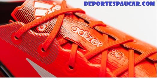 Nuevas Adidas Adizero F50 Rojo Blanco Negro