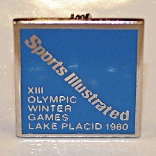 Sports Illustrated OLYMPIC PIN 1980 Lake Placid Olympics  Miracle on Ice