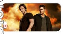 Supernatural iPhone Case for 5, 5S and 5G (in front of flames of hell)