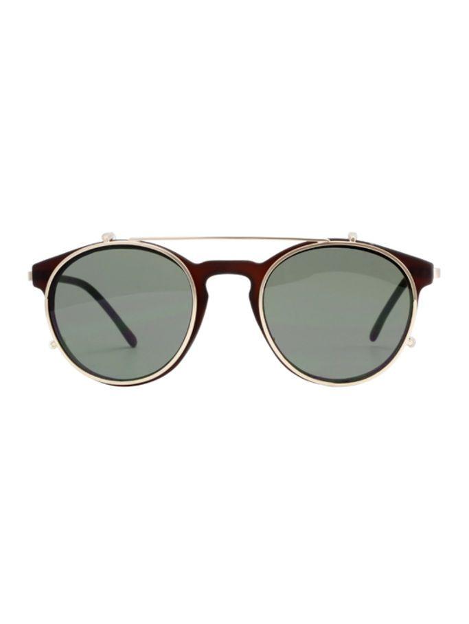 Lunettes de soleil Lunettes de soleil de mode Retro / Metal Polygon Sunglasses / Personalized Bright Sunglasses Lunettes ( Couleur : 3 ) 6OBAV
