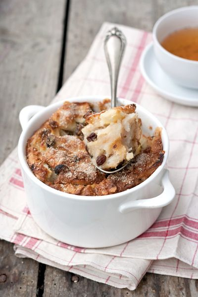 Shalut, a treat that's day-old bread and apple pudding, could be a tasty dessert choice!