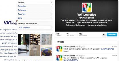 Sociale Media in de Logistiek