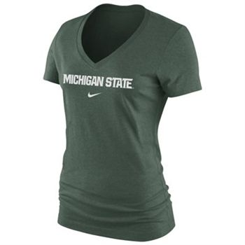 Nike Michigan State Spartans Women's Arch Cotton T-Shirt