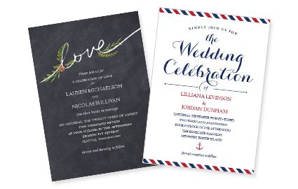Costco Wedding Invitation Printing Service Cheap And Easy For