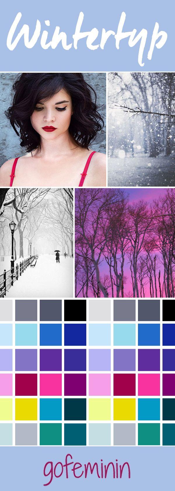 Die besten Styling-Tipps für den Wintertyp - jetzt auf gofeminin.de!