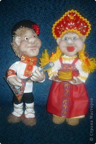Шитьё: куклы на масленицу фото 1