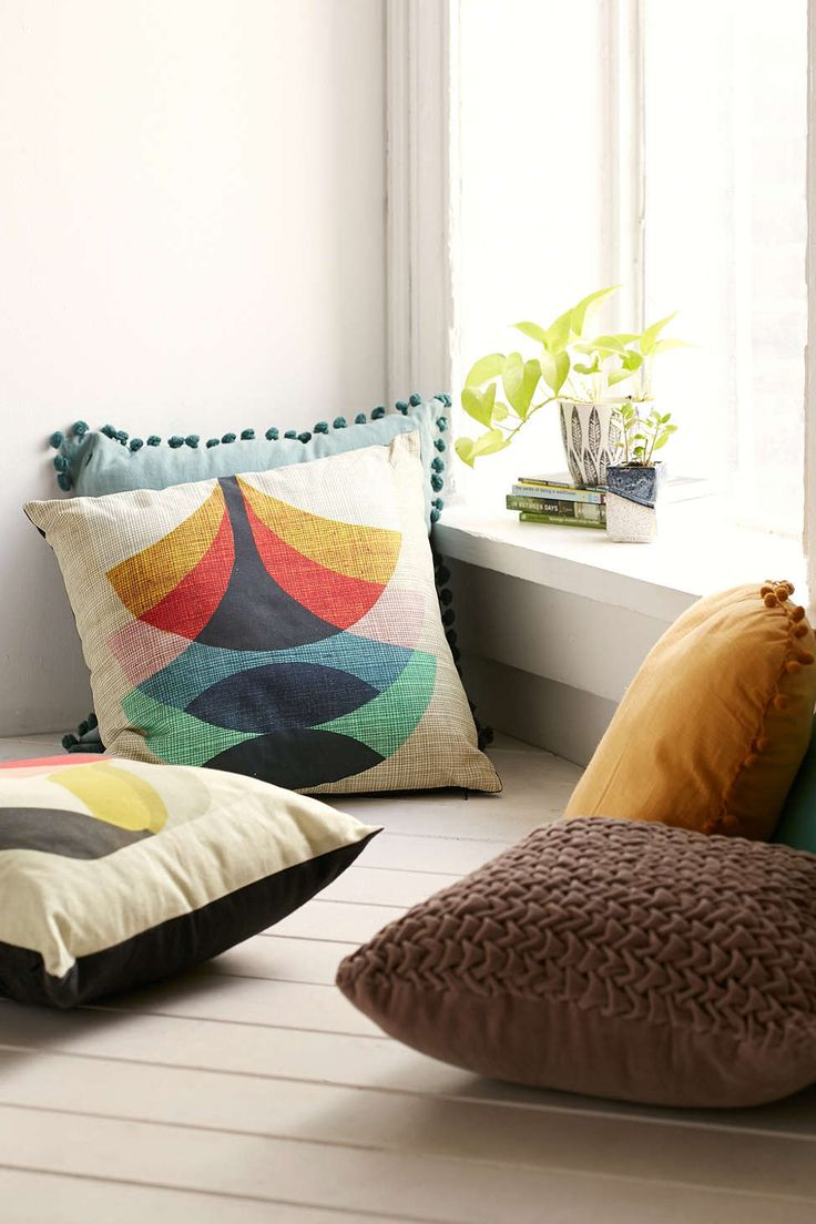 Inaluxe Press Close Together and Flora Pillows - Urban Outfitters