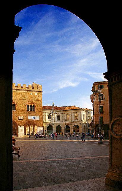 Piazza dei Signori in Treviso, Italy