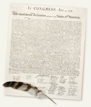 Helpful for teaching the foundation of the USA for ESL students: Principles of Freedom - The Declaration of Independence and the American Revolution